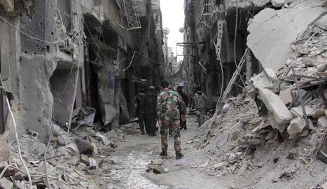 La guerra de Síria va començar el 2011 i des d'aleshores hi ha hagut milers de morts i refugiats.