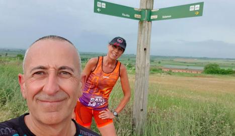 Joan Carles Charles i Consol Bosch van fer més de 17 quilòmetres.