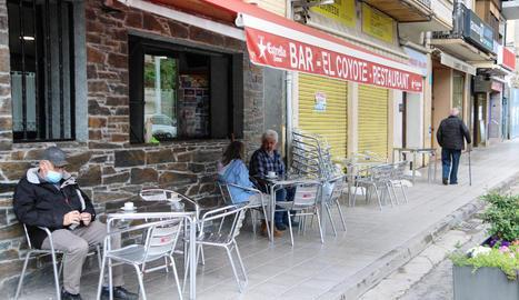 Obertura a mig gas de les terrasses a la capital del Pallars Sobirà