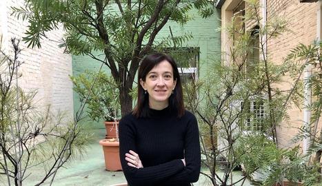 La directora de l'editorial, Eulàlia Pagès, va presentar la iniciativa.