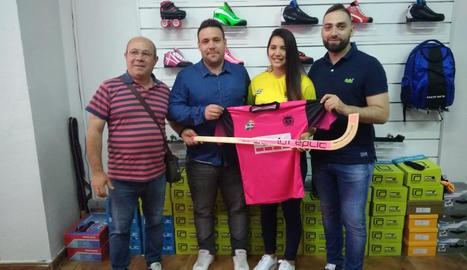 Ramon Porta, Jordi Capdevila, Cata Flores i Lluís Rodero.