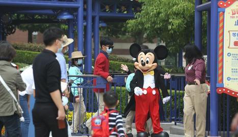 Disneyland Xangai va obrir ahir les portes de nou.
