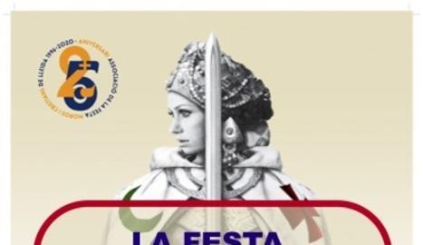 La Festa de Moros i Cristians de Lleida organitza una desfilada confinada des dels balcons