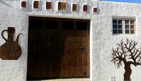 A Puigverd, l'art del Josep Maria es pot veure en moltes parets.