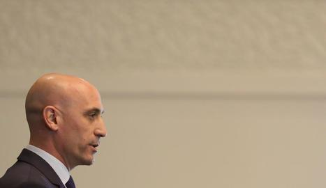 Luis Rubiales, president de la Federació Espanyola de Futbol.