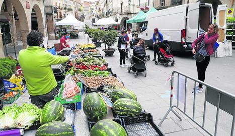 Imatge del mercat de les Borges, que va reobrir ahir.