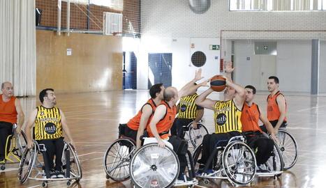 El CB Pardinyes participava aquesta temporada a la Lliga Catalana.