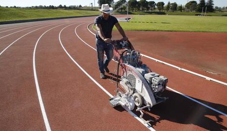 Les pistes municipals d'atletisme de les Basses no estaran obertes dilluns a l'espera de protocols.