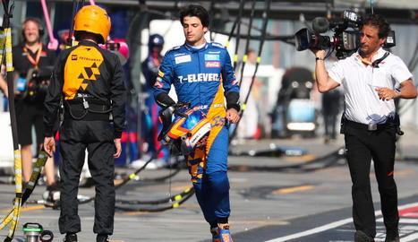 Carlos Sainz deixarà McLaren per fitxar per Ferrari.