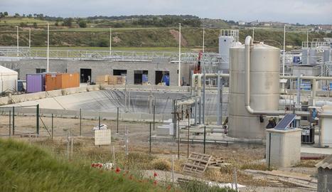 Les instal·lacions de la nova depuradora de BonÀrea.