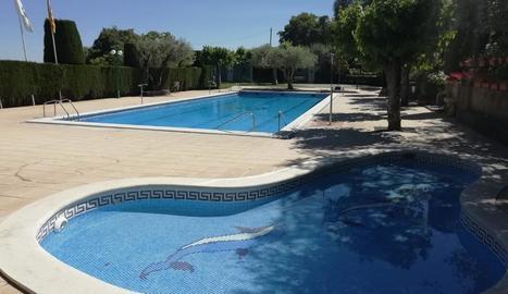 Imatge d'arxiu de les piscines de Vilanova de Meià.