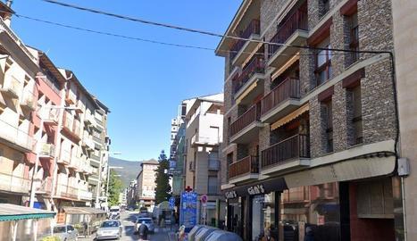 El carrer Sant Ot de la Seu d'Urgell