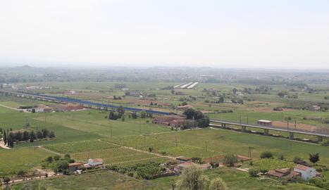 L'Horta de Lleida, al Segrià, la comarca més beneficiada.