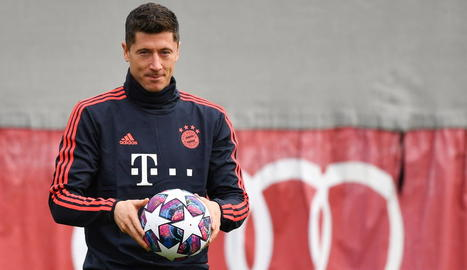 Lewandowski, del Bayern, porta 25 gols i intentarà superar el rècord de 40 en una Lliga de Gerd Müller.