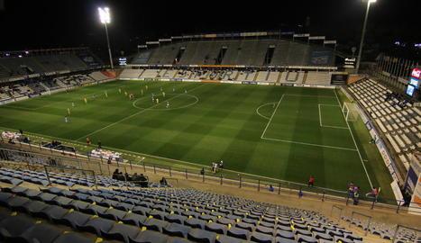 Una vista general del Camp d'Esports, que la Paeria ha decidit no reobrir durant la fase 1.
