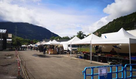 El mercat del Pont de Suert divendres passat.