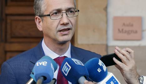 El governador del Banc d'Espanya, Pablo Hernández de Cos.