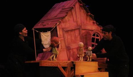 'La mongetera màgica', un muntatge de titelles de Festuc Teatre per al públic familiar.