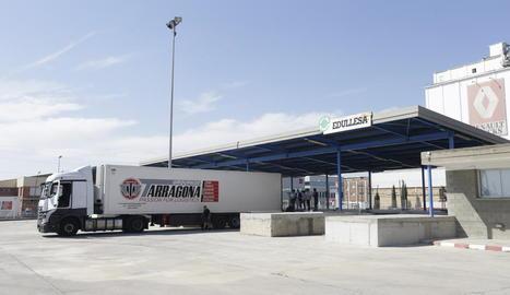 Bona part de les exportacions de Lleida a països tercers passen per Edullesa.