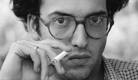 El poeta Andreu Vidal, al 33