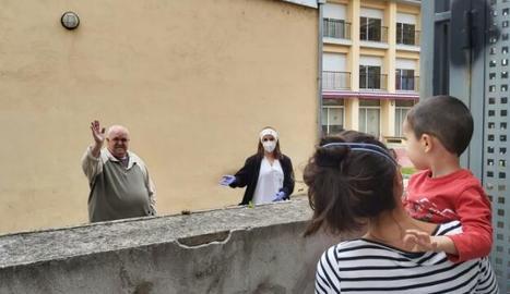 Una visita a distància a la residència del Pont de Suert.