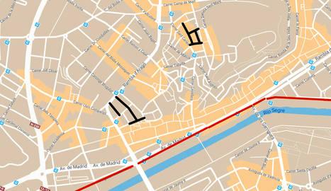La Paeria anuncia nous talls de carrers en tota la ciutat