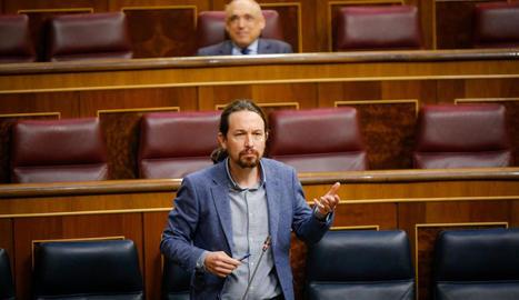El vicepresident segon del Govern de l'Estat, Pablo Iglesias.