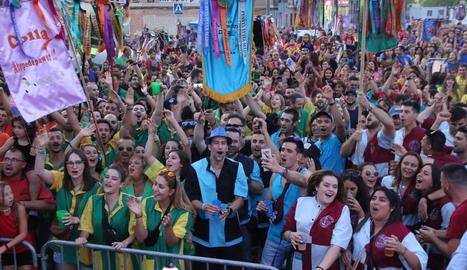 Imatge de la festa major de Pardinyes de l'any passat.
