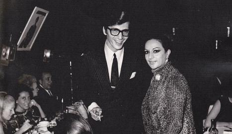 El compositor Manuel Alejandro, amb Lola Flores.