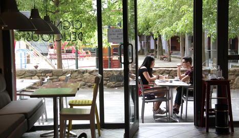 Una cafeteria de la Seu d'Urgell