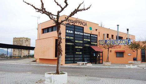 Vista de la seu de MercoFraga a la capital del Baix Cinca.