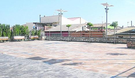 Imatge d'arxiu de la plaça del barri de Miralsot.