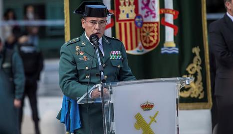 Imatge d'arxiu del coronel de la Guàrdia Civil, Diego Pérez de los Cobos, destituït ahir.