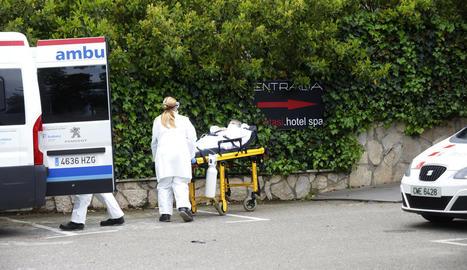 Ahir a l'hotel Nastasi només quedaven nou pacients.