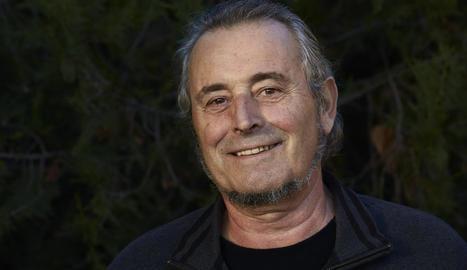 Pere Rovira, guanyador del I Premi Caselles al llibre de l'any 2019.