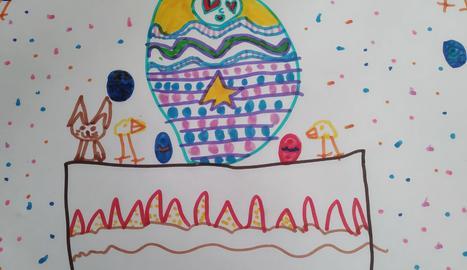 El dibuix de l'Emma Cunillera de 6 anys.