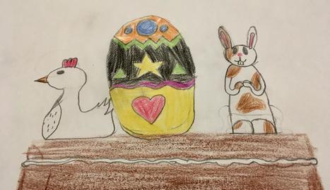 El dibuix de la Sara Clos de 10 anys.