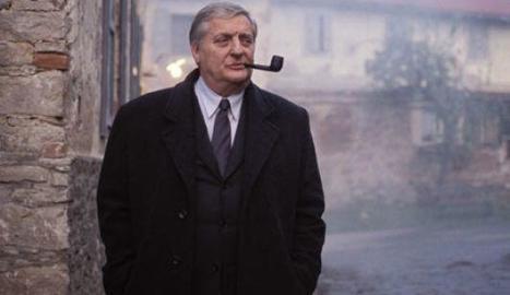 Bruno Cremer com a Maigret.