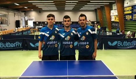 Vilardell, Masip i Duran formaran el nou equip a l'elit.