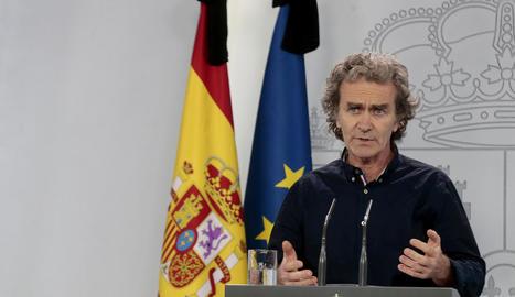 Simón alerta que brots locals com el de Lleida poden provocar una
