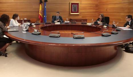 El consell de ministres extraordinari d'aquest divendres.