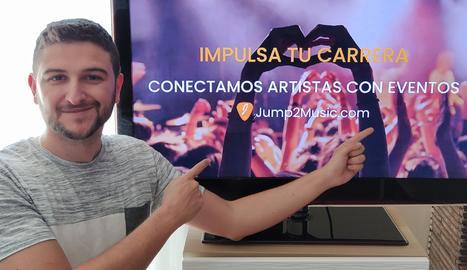 Albert Romero, ideòleg de Jump2Music