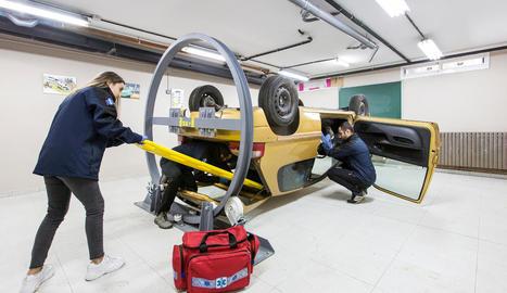 Una nova aula acollirà aquest taller.