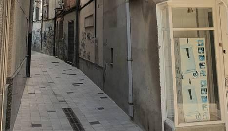 Els treballs se centraran en aquest carrer.