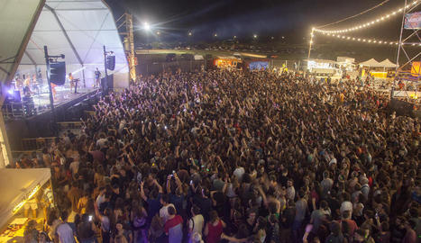 Concert d'Oques Grasses al Paupaterres de l'any passat.
