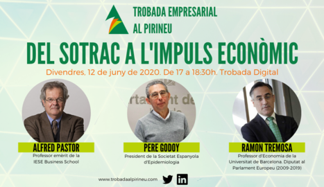 Jornada digital sobre empresa, economia i futur arran de la situació sanitària