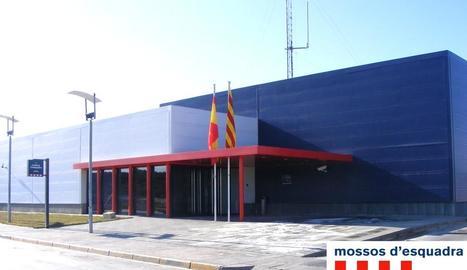 Imatge de la comissaria dels Mossos de les Borges.