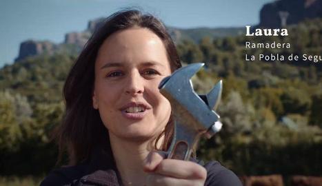 Quatre dels empresaris que apareixen a l'anunci de la campanya de la Diputació.