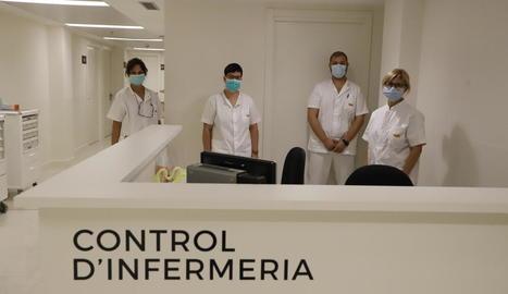 La renovada clínica NovAliança torna a rebre pacients