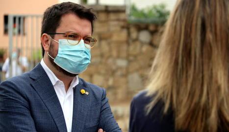 El vicepresident Pere Aragonès.